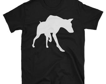 Metal Gear Online Revival MGO MGO2R Doberman Emblem Animal Rank Unisex T-shirt