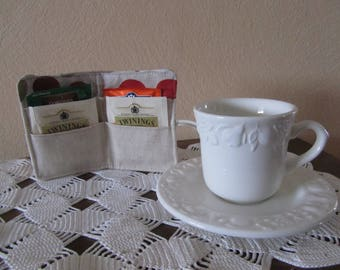 Case for tea or herbal tea bags