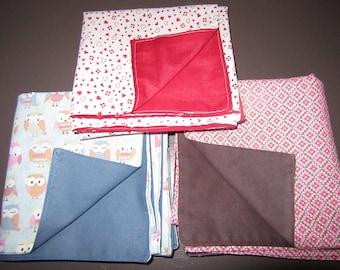 medium reversible furoshiki fabric reusable to infinity, the gift box