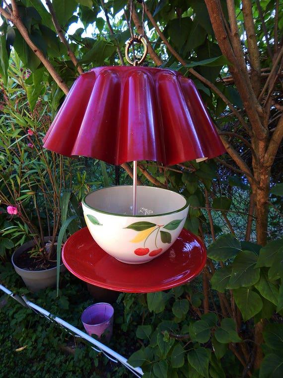 """The cherries charlotte"" bird feeder"