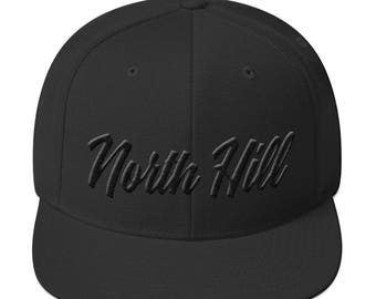 North Hill Snap back - 3D Puff Embroidery