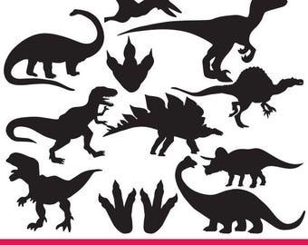 Dinosaur svg files, Dinosaur clipart, Animal svg, T-rex clipart, Dinosaur silhouette svg eps png dxf Cut Print Mug Shirt Decal