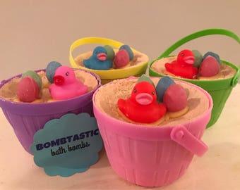 Easter Basket Bath Bomb