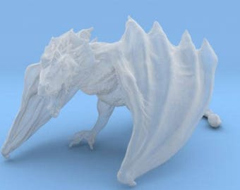 Game of Thrones Dragon (Frosted Ultra Detail)