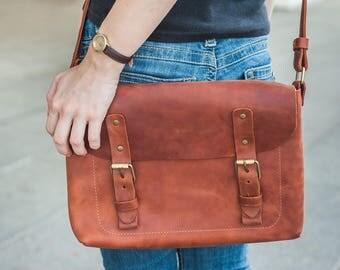 Leather laptop bag,Laptop 15 bag,Leather messenger bag,Leather laptop Handbag,Macbook crossbody bag,Laptop bag for him,Macbook 13 inch bag