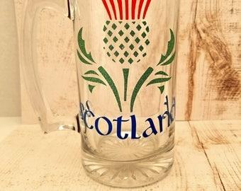 Scotland Beer Mug