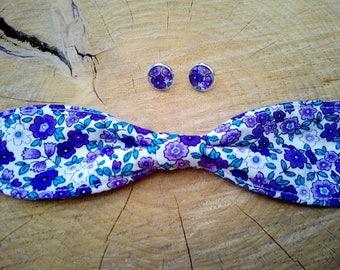 "Purple liberty woman ""AIKO"" collection"