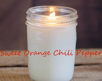 Sweet Orange Chili Pepper