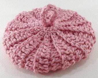 Powder Pink cotton Tawashi 9 cm