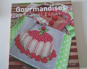 """""""Sweets to embroider and sew"""" book - sweet cross stitch"""