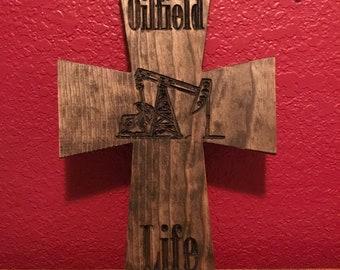 Oilfield Life Cross