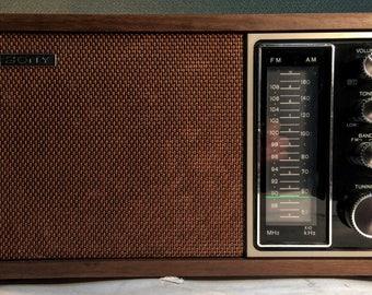 1970s Sony TFM-9440W AM/FM Radio