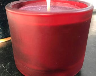 Amazon Lily and Rain  Scented Candle - Soy candle - Homemade - Floral Scent - Great for home spa day