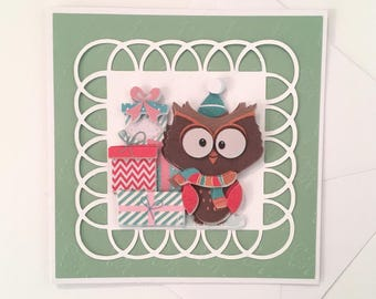 Blank - fantastic animal series greeting card