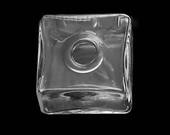 Square (20 mm) glass globe