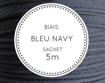 5 m bias - 21 Navy blue bag