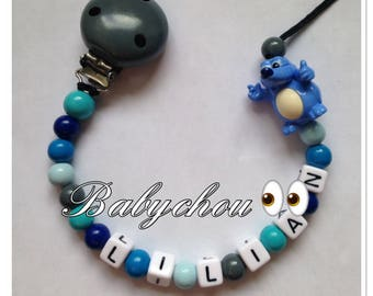 Sweet wooden with name beads
