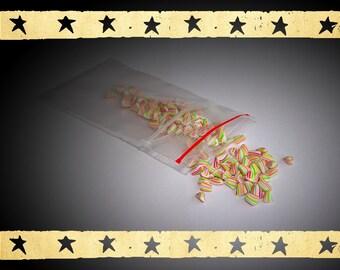 Mini multicolor color boiled sweets