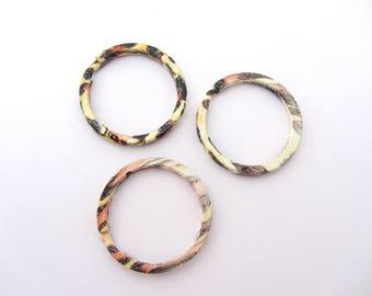 Key chain, 30 mm metal way giraffe ring