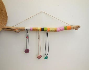 Jewelry display hanging hippie chic style