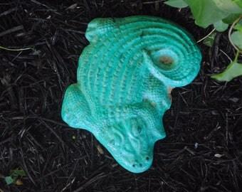 Alligator Yard Art Etsy