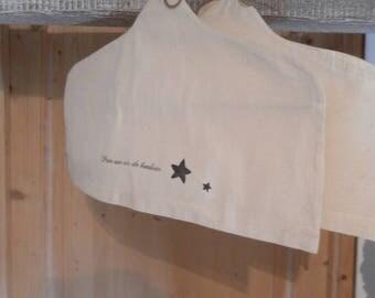 Linen LCV hanger cover