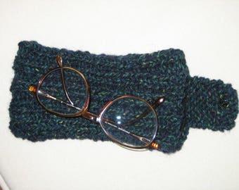 Wool glasses case