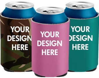 Personalized Koozie Drink Insulators,Beer Bottle,Beer Can,Soda Can Cooler,Drink holder Your Logo,Team gifts,Summer gift,Bridal Party gifts