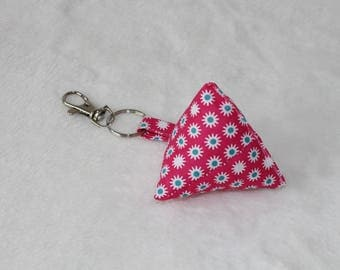 Pink cherry shaped Keyring