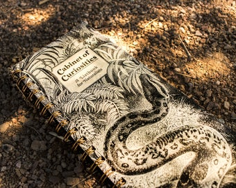 Cabinet of Curiosities Serpent ListBook -- (4.25 x 11 inches) Side-Bound Notebook