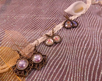 "Earrings ""Bronze"" Creat'Yon - simple and beautiful."