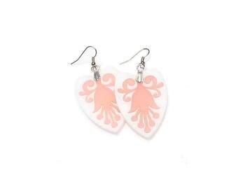 Earrings - Ginger - peach