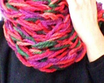 Infinity scarf in wool