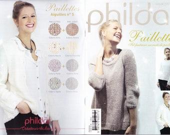Mini catalog phildar theme glitter aig n5 collector