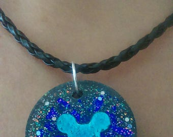Holographic Mickey Mouse Necklace