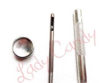 Set of 3 riveting #330206 steel tools