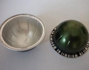 Set of 10 capsules vertuo Stormio dark green Nespresso capsules