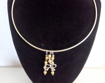 Light gold serie necklace