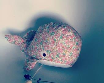 musical whale blanket