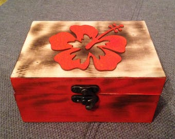 Box jewelry meeting of 15cm x 11cm by 7cm high custom wooden box to order contact me