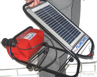 Lighting with photovoltaic//AURORE for LEDs, music, charger//Clean Energy