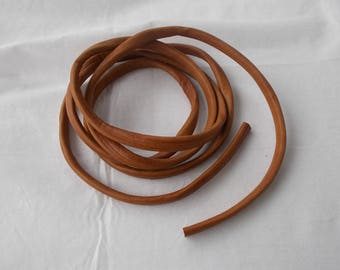 1 meter of imitation leather cord 10 x 6 mm seamless