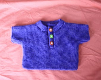 little baby girl 3 month hand knit sweater