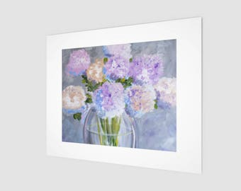 Summer Flowers Abstract Art Prints | Fine Art Hanging Wall Decor | Hanging Pictures