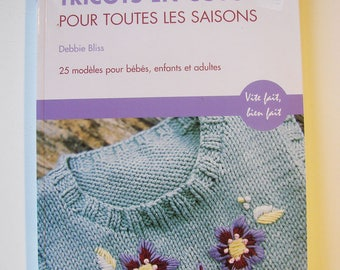 Book - knitting - for all seasons cotton knit