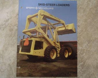 New Holland Super Boom Skid Loader Literature
