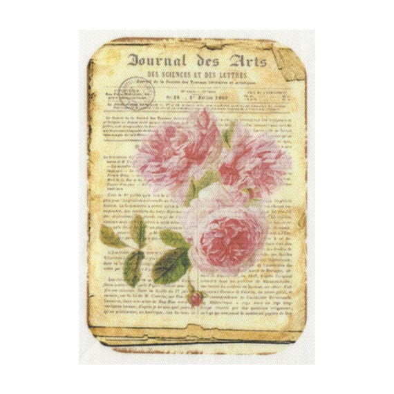 """Applied fusible - Collection """"Old Rose"""" AT406-2"""