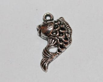 20 * 13 mm, set of 5 fish charm