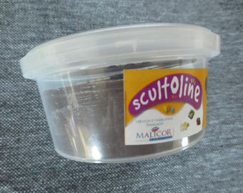 Scultoline Malicor chocolate black - 150g jar