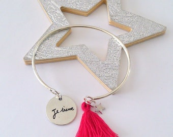 Bangle message of love